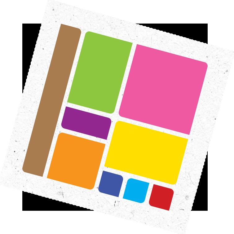kleurenblokjes logo